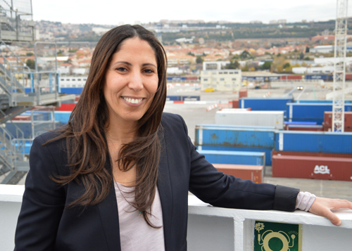 Amal Louis, president of the Marseille-Fos Ship's Agents' Association (AACN) and vice-president of the Regular Lines Commission at the French ship's agents' association AMCF.