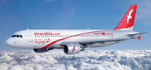 Air Arabia Maroc lance ses premiers vols vers l'Europe le 10 mai 2009 (photo Air Arabia)