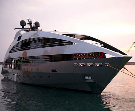 L'Ocean Emerald, premier superyacht en time-sharing  (photo DR)