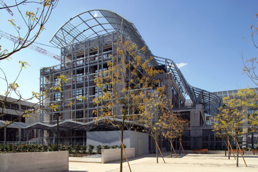 Eurosic possède, entre autres, l'ensemble immobilier Biopark à Paris (photo : Eurosic)