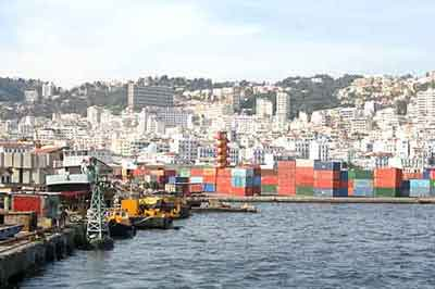 La gestion du port d'Alger a été confiée à DP World (photo DP World)