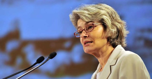 Irina Bokova regrette la décision de Washington de quitter son institution (photo : Unesco / Ania Freindorf)