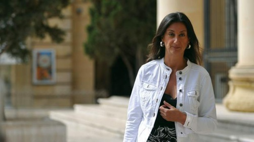 La journaliste Daphne Caruana Galizia enquêtait sur la corruption du gouvernement maltais (photo : DR)
