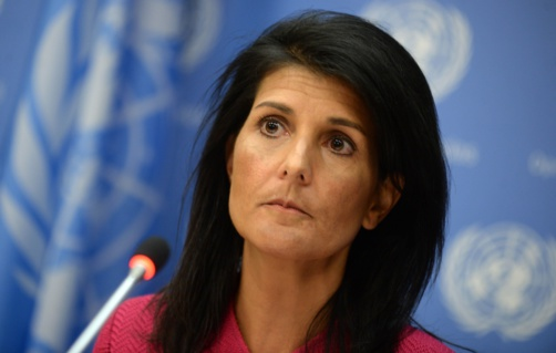 Nikki Haley a déposé un veto (photo : Onu)