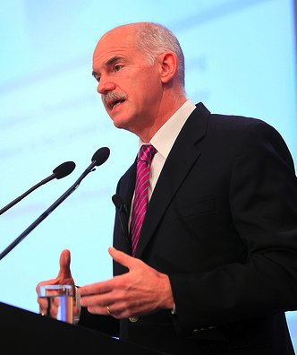 Georges Papandreou. (crédit Premier ministre grec website)