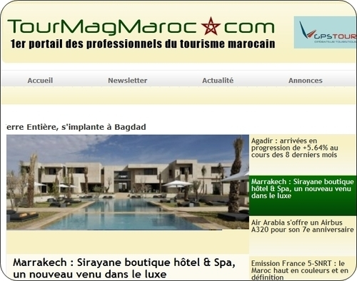 Le site TourMagMaroc.com sera officiellement lancé fin novembre 2010 (photo TourMag.com)