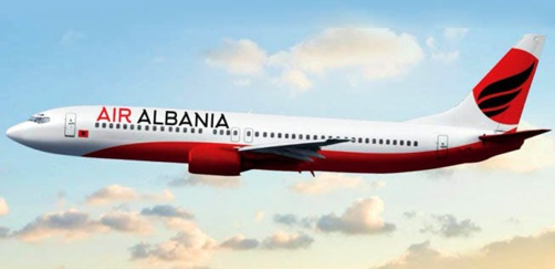 Air Albania en route vers l'Italie (photo : Air Albania)
