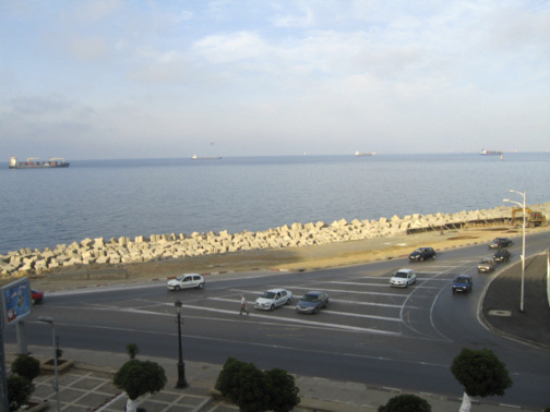 Le front de mer, avenue Mira à Alger. Photo DR