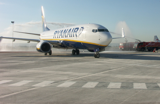 Ryanair renforce ses destinations entre la France et l'Italie (photo Gérard Tur)