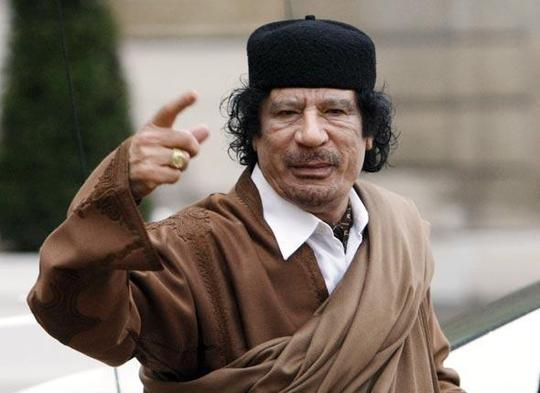 Mouammar Kadhafi refuse de céder (photo DR)