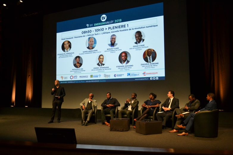 Emerging Valley devient le rendez-vous des start-up africaines (photo : F.Dubessy)