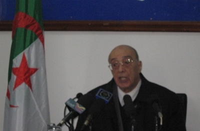 Abdelhamid Mehri (photo AB)