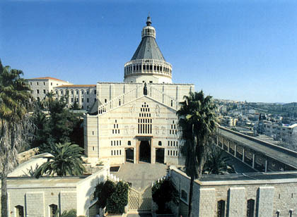 La basilique de l'Annonciation à Nazareth (photo MFA)