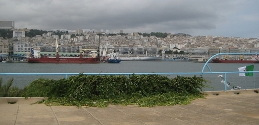 Le port d'Alger, coeur des importations (photo DR)
