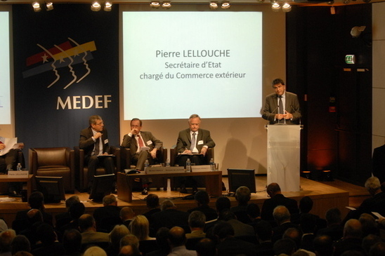 La réunion du Medef international a permis de faire le point sur la situation en Libye (photo Medef international)