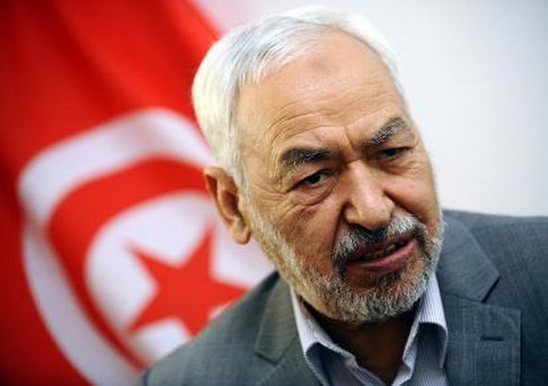 Rached Ghannouchi, leader d'Ennahda. Photo DR