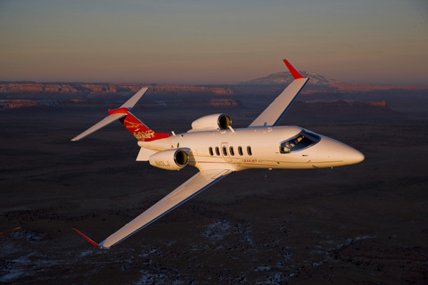 Avions Bombardier Learjet 40XR (photo Bombardier)
