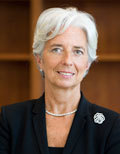 Christine Lagarde, directrice du FMI (site officiel du FMI)