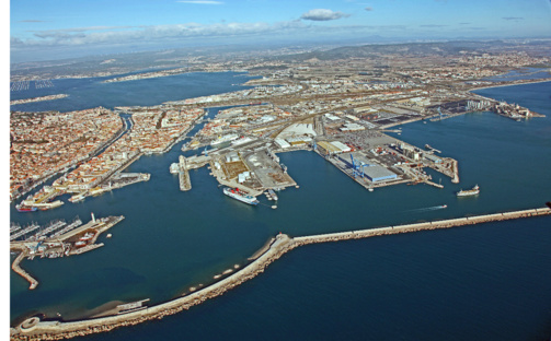 Sète est devenu le premier port européen de transport de bétail (photo : Port de Sète)