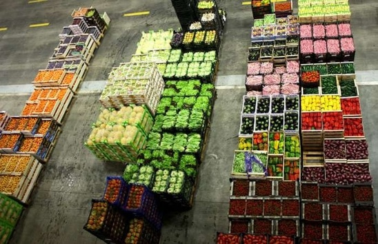 The main fruit and vegetables market in Genoa (photo DR)