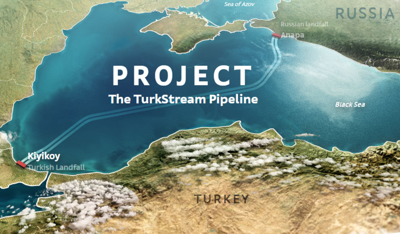 TurkStream relie la Russie à la Turquie via la mer Noire (photo : TurkStream)