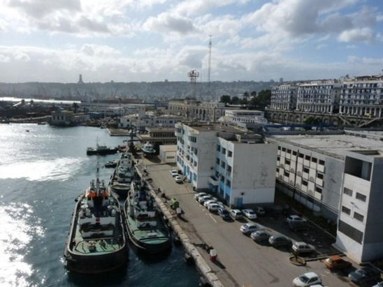Le port d'Alger (photo NBC)