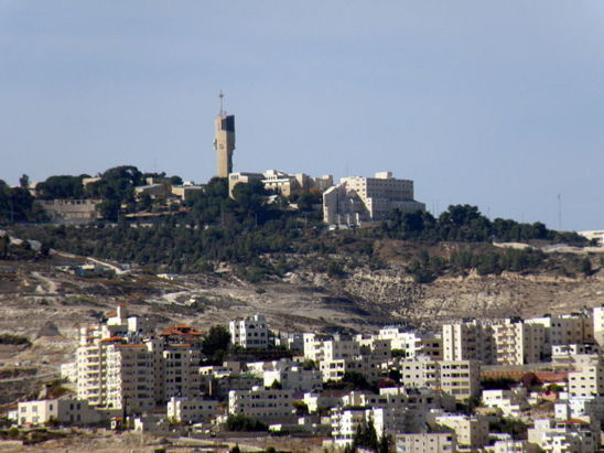 Maale Adumim, en Cisjordanie (photo Ron Almog - licence Creative Commons)