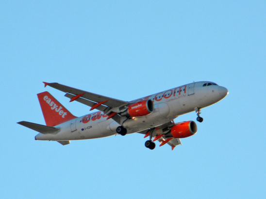 Avion Easy Jet (photo Brigitte Luis)