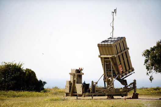 "Batteries ""Iron Dome"" installées près d'Ashkelon (photo DR)"