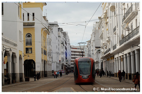 Tramway de Casablanca (photo: Christelle Marot)