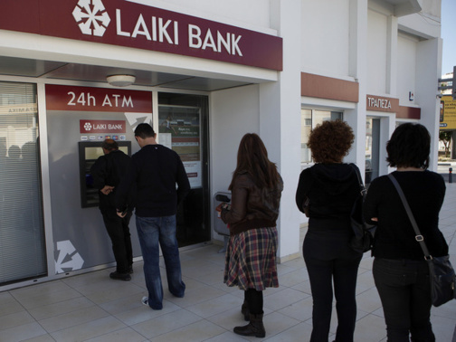 La Laiki Bank va disparaître (photo F.Dubessy)