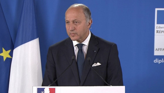 Laurent Fabius confirme l'utilisation de gaz . Photo DR