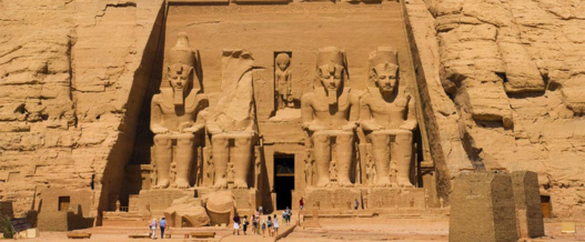 Temple d'Abou Simbel (photo gouvernement égyptien)