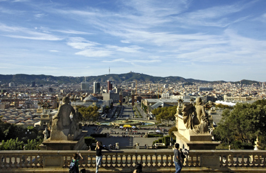 Barcelone sera à 6h20 de Paris en train à partir du 15 décembre (photo Office de tourisme de Barcelone)