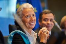 Participation de Christine Lagarde, directrice générale du FMI au Comité (photo CESE)