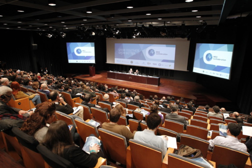 Présentation de la Med Confederation à la CaixaForum de Barcelone (photo du forum)