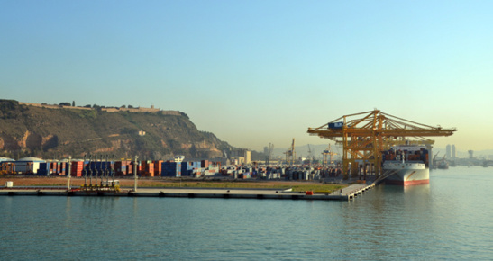 Le port de Barcelone (photo F.Dubessy)