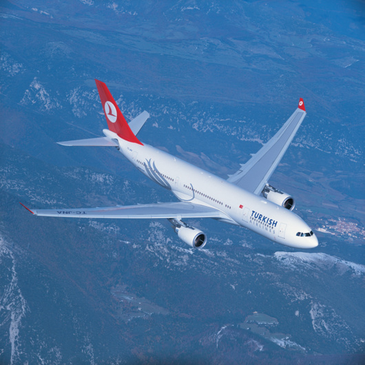 Turkish Airlines vole vers Bordeaux (photo Turkish Airlines)