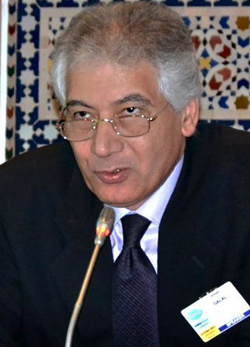 Ahmed Galal, président du Femise et directeur de l'Economic Research Forum en Egypte. (Photo F. Dubessy)