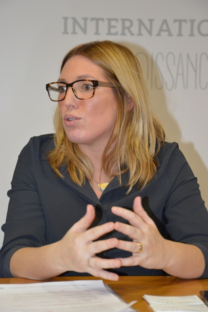 Anna Belén Gomez, directrice France de Transcoma Global Logistics. (Photo N.B.C/econostrum)