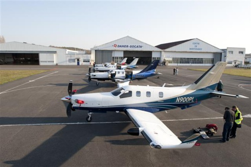 Daher a vendu 51 TBM 900 en 2014 (photo Daher)
