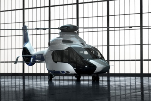 Le H160 d'Airbus Helicopters remplacera en 2018 le Dauphin (photo Airbus Helicopters)