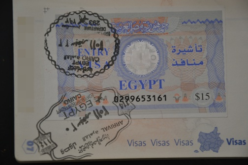 Il ne sera plus possible d'obtenir un visa à l'entrée en Égypte (photo F.Dubessy)
