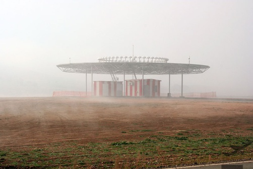 Un aéroport fantôme (photo Aeropuerto Central de Ciudad Real)