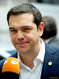 Alexis Tsipras remet son mandat en jeu (photo Union européenne)