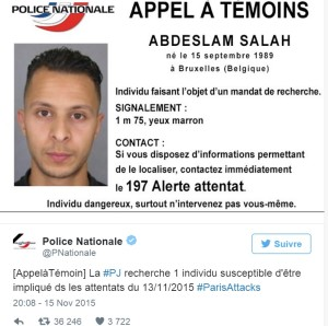 L'appel à témoins diffusé par la police (photo Police Nationale)