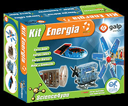 "Le kit ""énergie"" de Science4you (photo Science4you)"