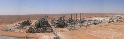 Le gaz reste la source d'énergie dominante en Algérie. Photo BASF