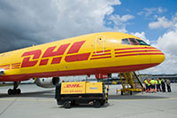 DHL surf sur la vague du e-commerce. Photo DHL