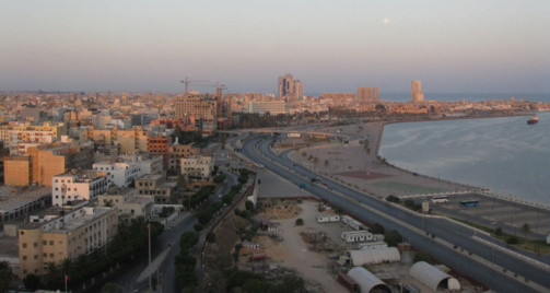 La situation reste tendue à Tripoli. Photo BBC World Service